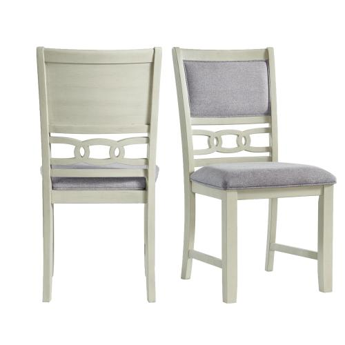 Amherst Standard Height Side Chair Set in Bisque