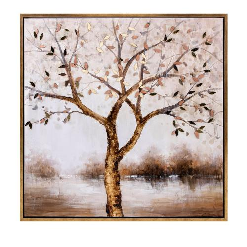 Imax Corporation - Bronze Tranquility Framed Oil Painting