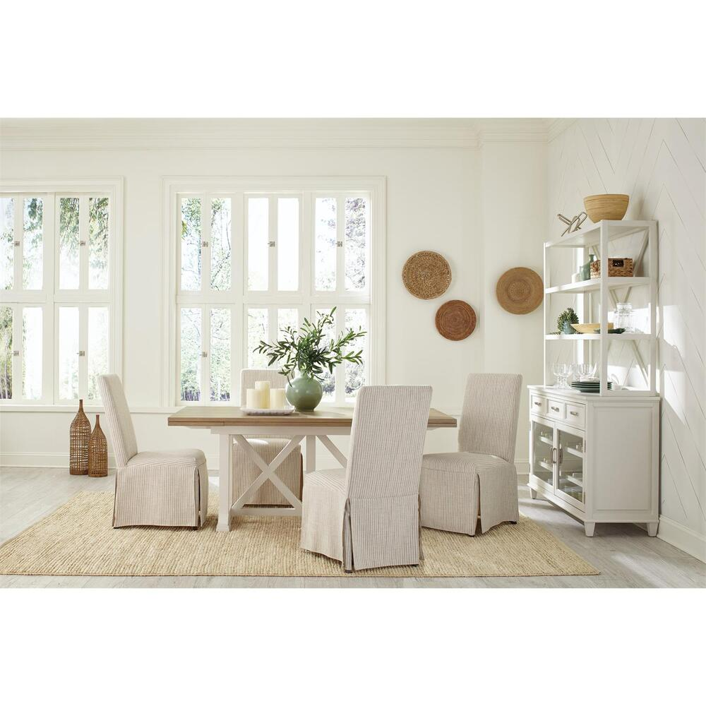 See Details - Osborne - Upholstered Slipcover Chair - Gray Skies Finish