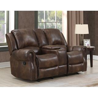 Palance Manual Reclining Console Loveseat