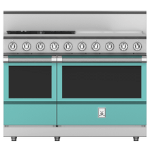 "48"" 4-Burner All Gas Range with 24"" Griddle - KRG Series - Bora-bora"