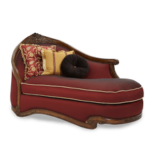 Wood Trim LAF Chaise - Opt1
