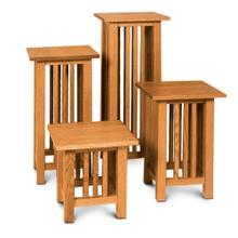 """See Details - Mission Plant Stand, 13""""w x 13""""d x 14""""h"""