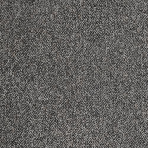 Berlin Modular Rsf Loveseat, Gray Herringbone & Sanded Microfiber U4551-12-03