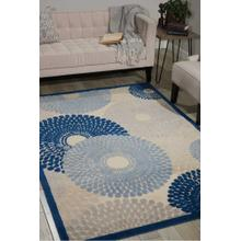 Graphic Illusions Gil04 Ivory/blue