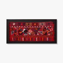 0306540028 Vintage Textile Wall Art