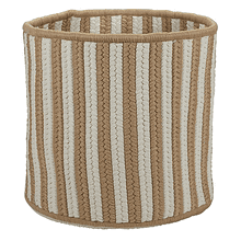 "Baja Stripe Basket BJ83 Natural 12"" X 10"""