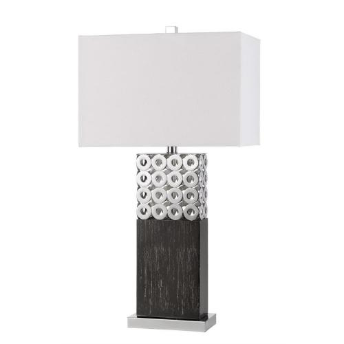150W 3 Way Jesi Laser Cut Metal Table Lamp