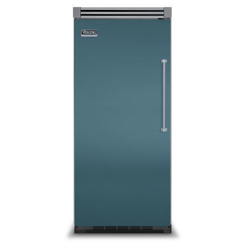 "Viking - Iridescent Blue 36"" Quiet Cool™ All Refrigerator - VIRB Tru-Flush™ (Left Hinge Door)"
