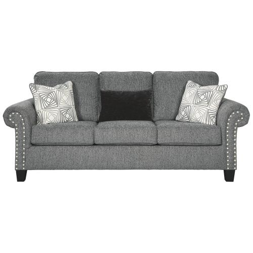 Benchcraft - 787013   Sofa, Loveseat and Chair- Agleno Charcoal