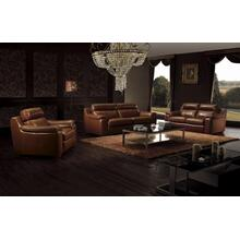Divani Casa BO3936 Modern Brown Leather Sofa Set