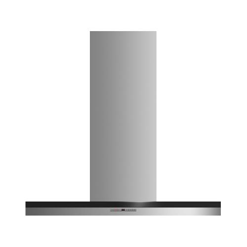 "Gallery - Wall Range Hood, 36"", Box Chimney"
