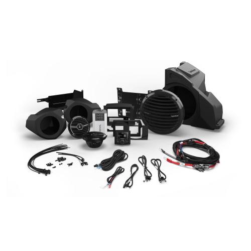 Rockford Fosgate - 400 Watt Stereo, Front Speaker and Subwoofer Kit for Select Polaris® RZR® Models