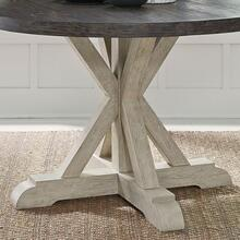 Round Single Pedestal Table Base