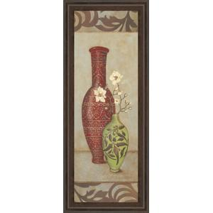 """Red Vase"" By Stephanie Marrott Framed Print Wall Art"