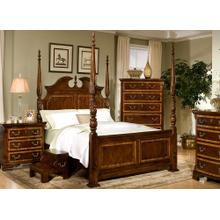 See Details - Decorative High Poster Bed