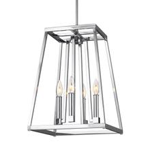 Conant Small Lantern Chrome