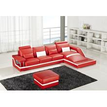 Divani Casa T271 Mini - Modern Leather Sectional Sofa