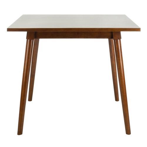 Simone Square Dining Table - Walnut