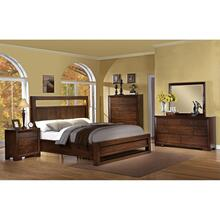 Riata - Queen Panel Footboard With Slats - Warm Walnut Finish