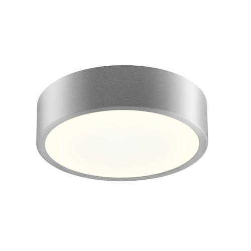"Sonneman - A Way of Light - Pi LED Surface Mount [Size=8"", Color/Finish=Bright Satin Aluminum]"