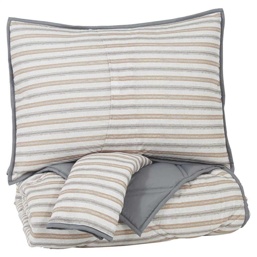 See Details - Rhey 3-piece Full Comforter Set
