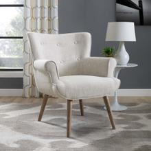 Cloud Upholstered Armchair in Beige