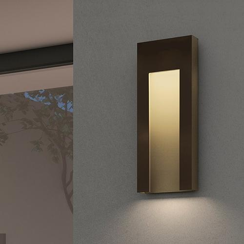 Sonneman - A Way of Light - Inset Tall LED Sconce [Color/Finish=Textured Bronze]