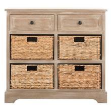 See Details - Herman Storage Unit - White Wash