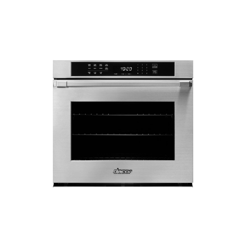 """30"""" Single Wall Oven, Silver Stainless Steel with Pro Style Handle"""