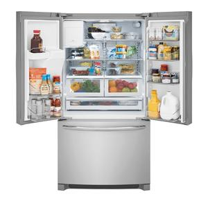 Frigidaire  FGHD2368TF   Gallery 21.7 Cu. Ft. Counter-Depth French Door Refrigerator