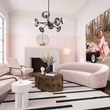 View Product - Serenity Blush Velvet Sofa