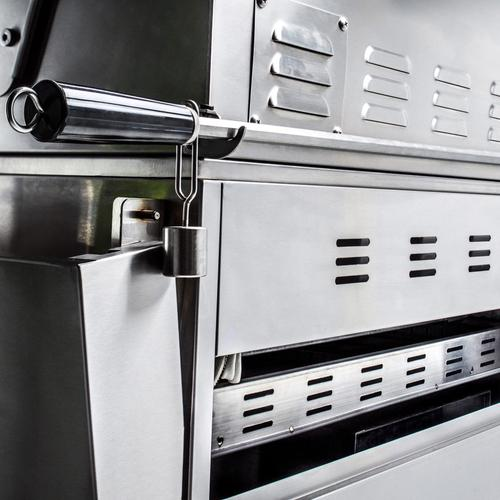 Blaze Grills - Blaze Professional LUX 34-Inch 3 Burner Built-In Gas Grill With Rear Infrared Burner, With Fuel Type - Natural Gas
