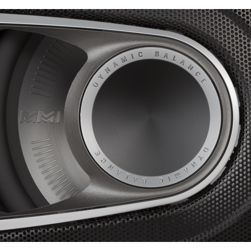"""MM1 Series 6.5"""" Component Speaker System with Ultra-Marine Certification in Black and Silver"""