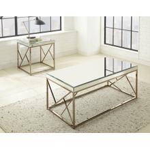See Details - Evelyn 3-Piece Set(Cocktail & 2 End Tables)