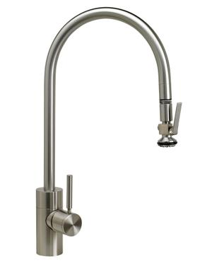 Contemporary Extended Reach PLP Pulldown Faucet - 5700 - Waterstone Luxury Kitchen Faucets Product Image