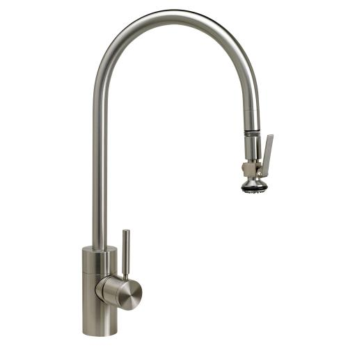Contemporary Extended Reach PLP Pulldown Faucet - 5700 - Waterstone Luxury Kitchen Faucets