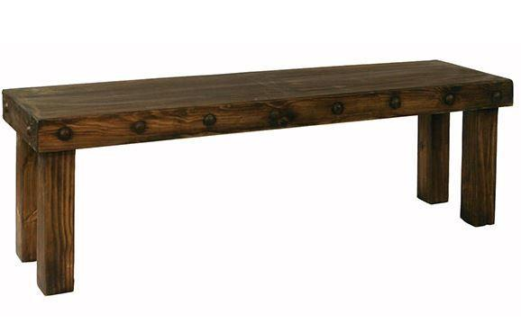 5' Laguna Bench W/Wood Seat