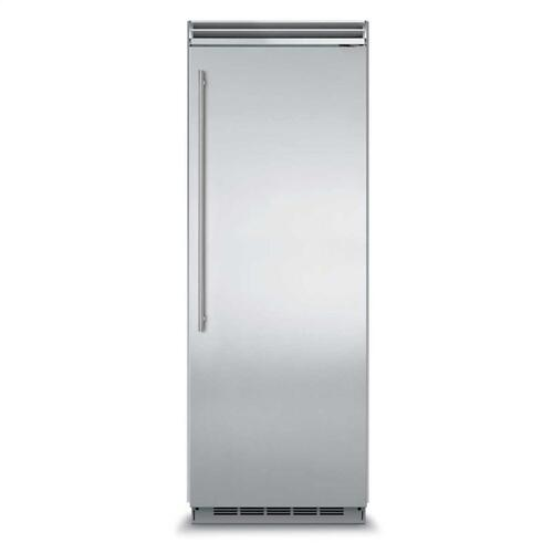 "Marvel Professional Built-In 30"" All Refrigerator - Solid Stainless Steel Door - Left Hinge, Slim Designer Handle"