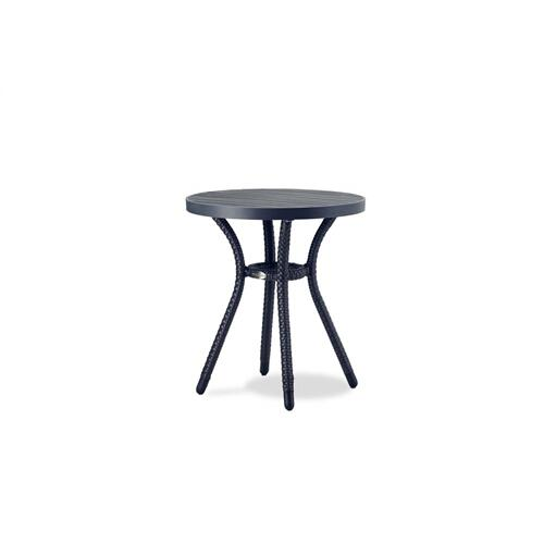 "Palm Harbor 18"" Round End Table w/Durawood Top"