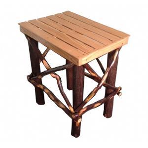 Amish Side Table - Oak / Hickory