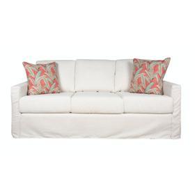 Slipcover Sofa, Plush Depth