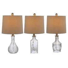 Vintage Etched Accent Lamp. 40W Max. (3 pc. ppk.)