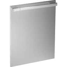 GFVi 707/77 - Int. front panel: W x H, 24 x 30 in in Clean Touch Steel™ finish with handle for fully integrated dishwashers.