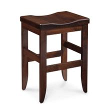 """See Details - Bowen Stationary Barstool, 30"""" Seat Height / Fabric Cushion Seat"""