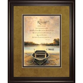 """Renew"" By Bonnie Mohr Framed Print Wall Art"