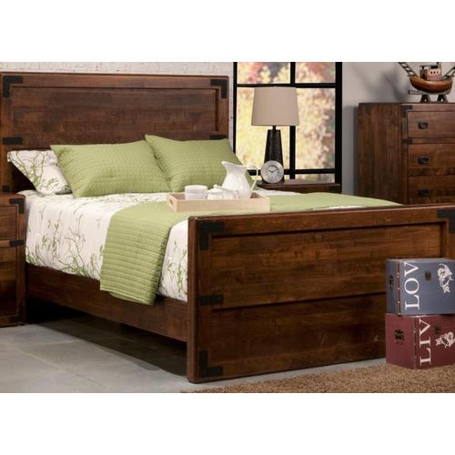 Handstone - Saratoga King Bed With 30'' High Footboard