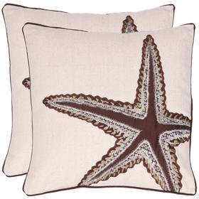 Lucky Star Pillow - Ecru