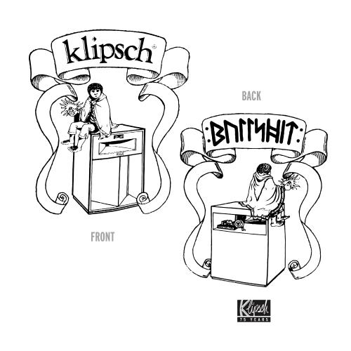 Klipsch - Klipsch Elf T-shirt in Black - Medium