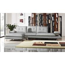 Grey sectional
